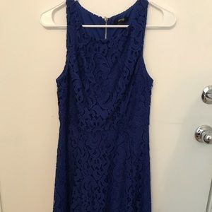 Apt 9 Midi Royal Blue Lace Dress